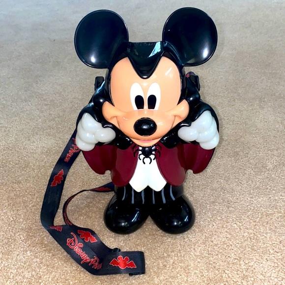 RARE-Halloween Mickey Mouse Vampire Bucket